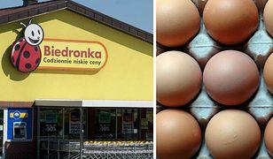 Biedronka wycofała jaja wskazane przez GIS. Wykryto w nich bakterie salmonelli