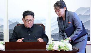 Siostra Kim Dzong Una uderza w prezydenta Korei Południowej