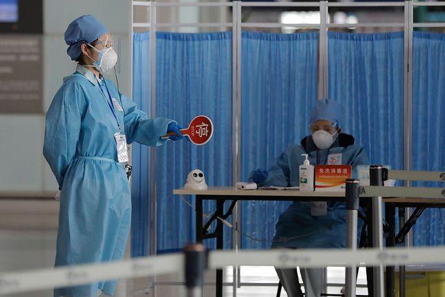 Koronawirus. Chiny. Nagły wzrost zakażeń. Najwięcej od miesiąca