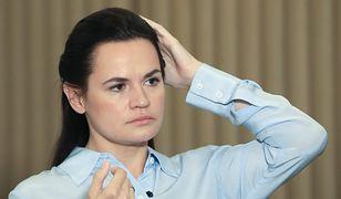 Białoruś. Swiatłana Cichanuoska jednak w Polsce. Spotka się nie tylko z Białorusinami