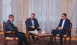 Premier Mateusz Morawiecki obiecuje w wywiadzie dla WP, że po II turze wyborów rząd nie wprowadzi niepopularnych decyzji finansowych