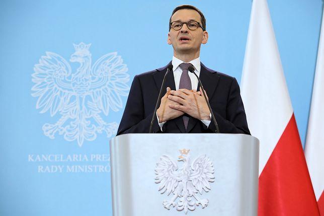 """""""Die Welt"""" zwraca uwagę, że to właśnie Morawiecki przyczynił się do zaostrzenia konfliktu"""