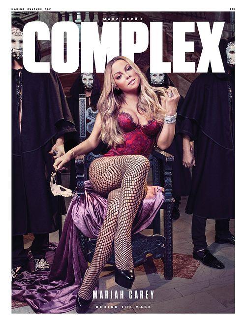 "Mariah Carey na okładce pisma ""Complex"""