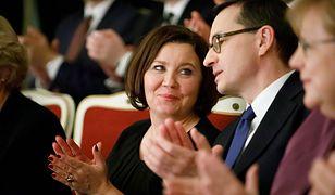 Premier Mateusz Morawiecki z żoną podczas koncertu w Berlinie