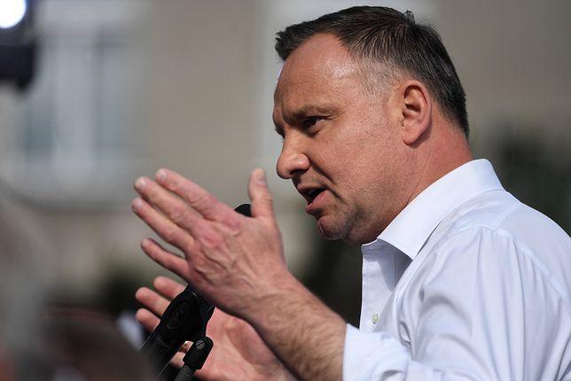 """Wybory 2020. Andrzej Duda ostrzega przed innymi rządami w Wieluniu. """"Żeby nie wrócili tacy..."""""""