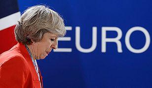 """""""The Times"""": wyciekła wewnętrzna notatka o chaosie wokół Brexitu. Uderza w Theresę May"""