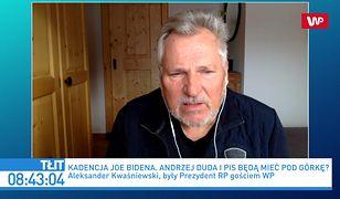 Inauguracja Joe Bidena. Dziwny wpis Joachima Brudzińskiego. Aleksander Kwaśniewski komentuje