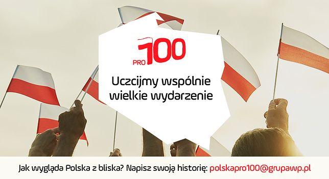 WP rusza z akcją Polska PRO100 na stulecie niepodległości.