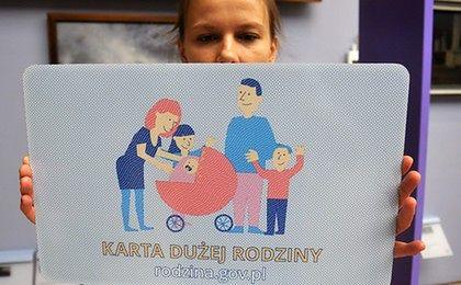 Wiceminister zapowiada: będzie więcej uprawnionych do Karty Dużej Rodziny
