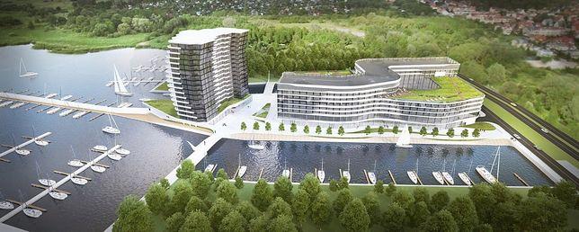 Obiekty zostaną wybudowane tuż nad brzegiem jeziora