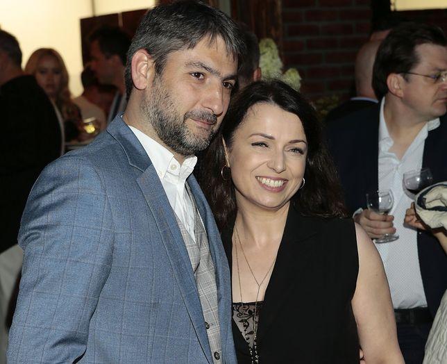Katarzyna Pakosińska pojawiła się ostatnio z mężem na otwarciu gruzinsko-ormianskiej restauracji w Warszawie