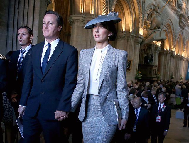 Żona Davida Camerona projektantką mody!