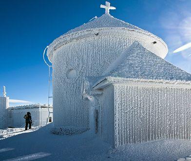 Odczuwalna temperatura na Śnieżce 27 lutego wynosi -50 st. C