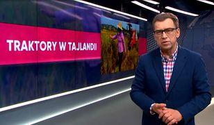 Wyścigi traktorów w Tajlandii - wideo