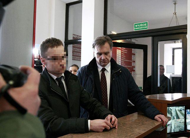 Asesor komorniczy Michał Kubik w Prokuraturze Okręgowej w Płocku