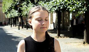 Greta Thunberg przez dwa tygodnie płynęła do USA