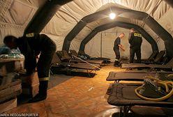 """Policyjni antyterroryści śpią w namiotach. """"Zimowa operacja"""" podczas COP24"""