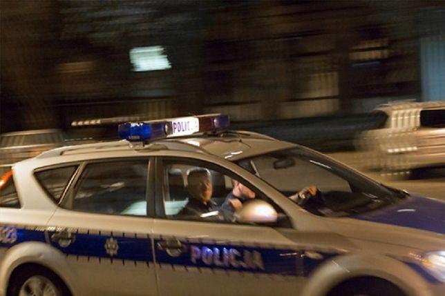 Pościg i strzelanina w Małopolskiem. Policja zatrzymała włamywaczy