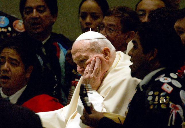 Papież Jan Paweł II.