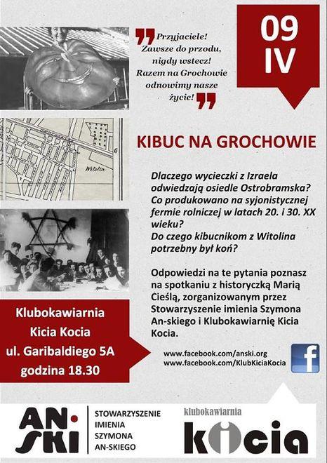 Za darmo: Tajemnice kibucu na Grochowie
