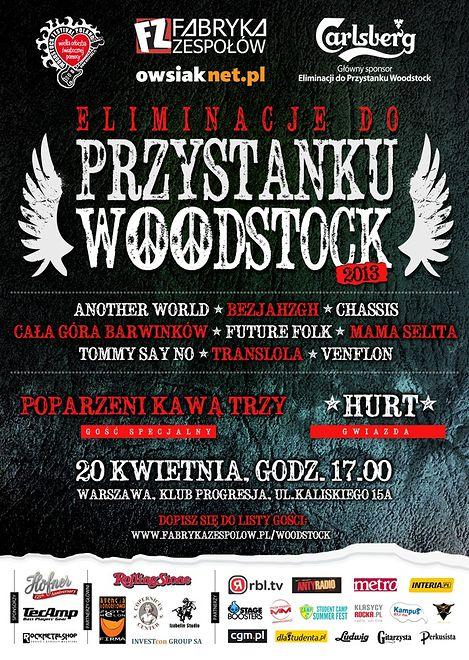 Eliminacje do Przystanku Woodstock wracają do Warszawy!