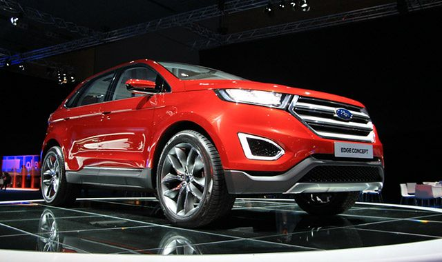 Ford Edge Concept: ekskluzywny SUV na Europę