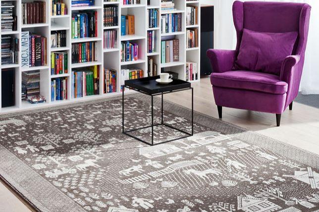 Tradycyjny dywan w nowoczesnym wnętrzu. HIT