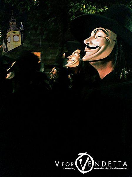 V jak Vendetta - zwiastun