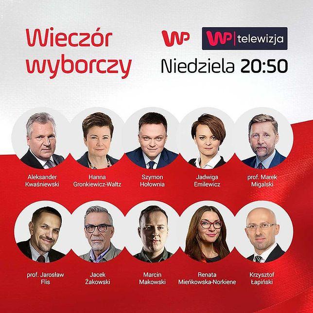 """Wybory prezydenckie 2020. """"Wieczór wyborczy"""" w Wirtualnej Polsce"""