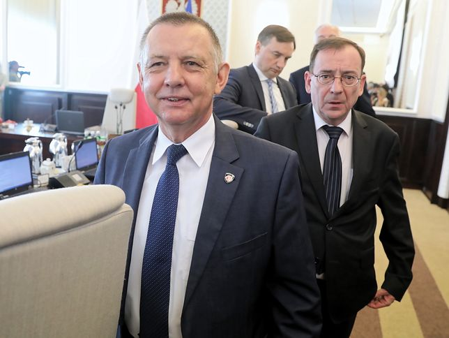 Marian Banaś i Mariusz Kamiński.