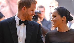 Księżna Meghan oraz książę Harry