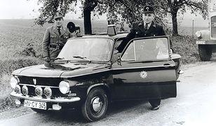 Policyjna wystawa w muzeum Audi