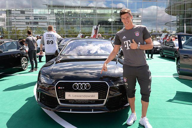 Samochody piłkarzy - Audi RS7