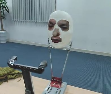 Maska, która oszukała iPhone'a X.