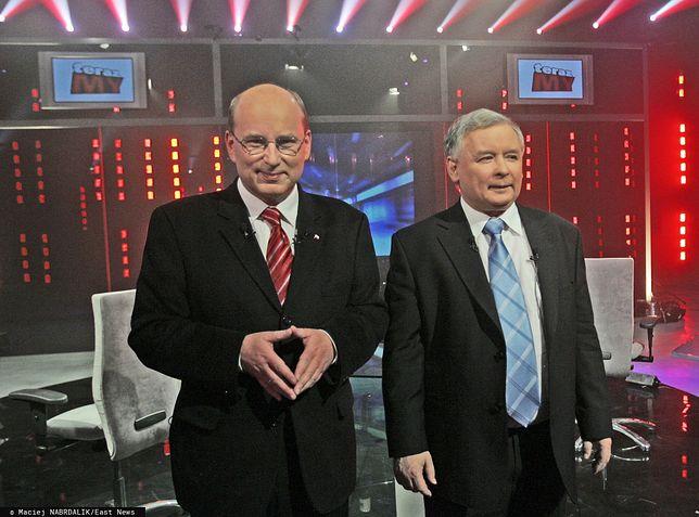 Jan Rokita i Jarosław Kaczyński, 2007