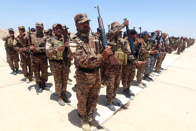 Sunnicy ochotnicy, którzy zgłosili się do mobilizacji