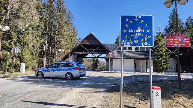 Cudzoziemcy próbowali przekroczyć granicę (Źródło: zywiecinfo.pl)