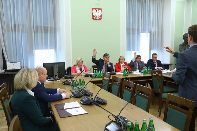 Posiedzenie Komisji do Spraw Kontroli Państwowej w sprawie zaopiniowania wniosków prezesa NIK Mariana Banasia