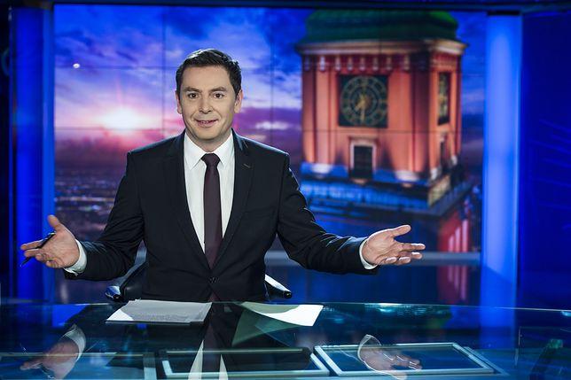 Prezenter TVP Michał Adamczyk napisał list do prezesa Jacka Kurskiego