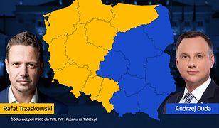 Wyniki wyborów 2020. Rafał Trzaskowski przegrywa na Mazowszu