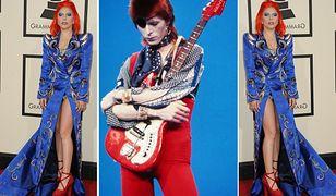 Grammy 2016: Lady Gaga jak David Bowie