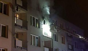 Sosnowiec. Pożar mieszkania. Nie żyje jedna osoba