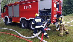 Pożar w domu wielorodzinnym w Opolskiem. Ewakuowano 27 osób