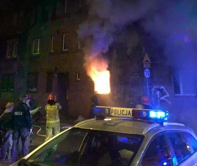 Mysłowice. Tragiczny pożar. Jedna osoba zginęła w płomieniach