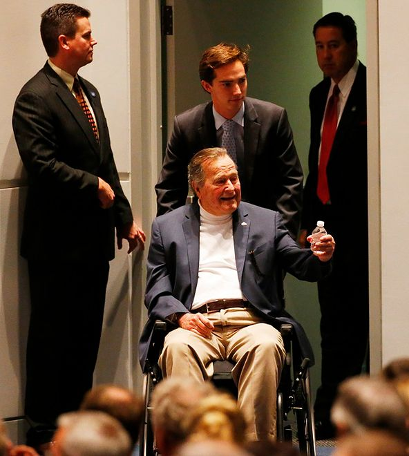 USA: George H.W. Bush trafił do szpitala
