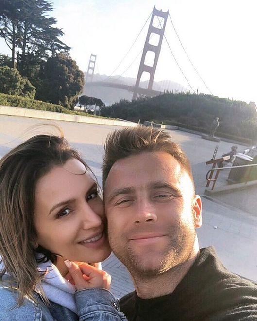 Artur Boruc z żoną na wakacjach