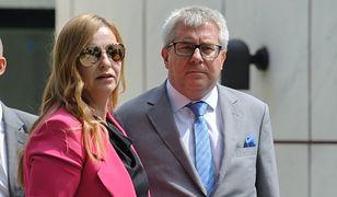 Emilia Hermaszewska z mężem Ryszardem Czarneckim z PiS