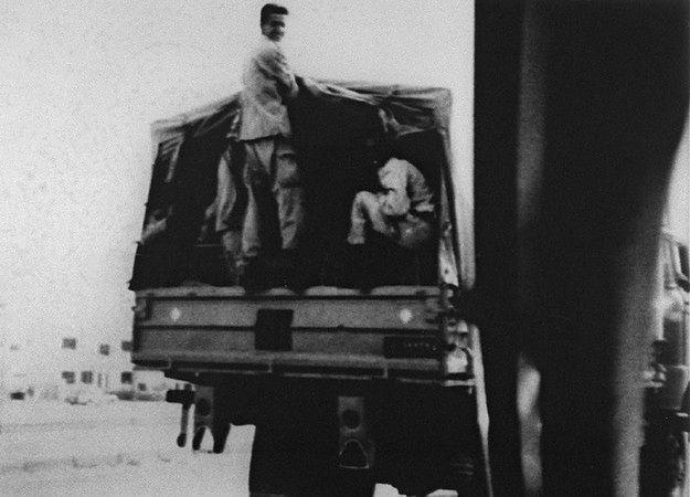 Iraccy żołnierze w Kuwejcie, sierpień 1990 r.