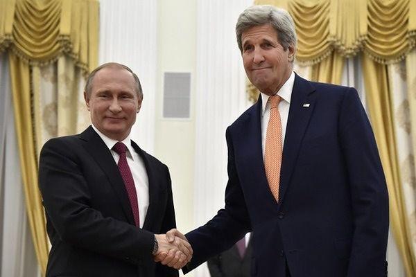 Władimir Putin i John Kerry rozmawiali o Ukrainie i Syrii