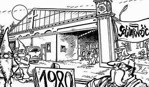 Słynni rysownicy zagoszczą we Wrocławiu. Stworzą komiks o Sierpniu '80